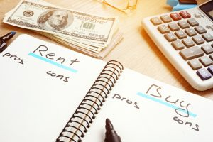 Rent or buy house pros and cons.